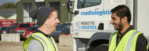 the road to logistics, transport, HGV, recruitment, logistics, training, employment, haulage, driver, drivers